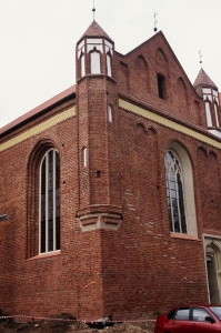 109 MALBORK Kościół pw Św Jana Chrzciciela