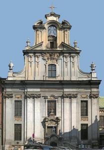 209 KRAKÓW Barokowy Kościół oo Pijarów