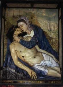 237 GÓRA KALWARIA XVI w płaskorzeźby Pieta 2