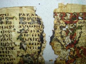 4 Egipt Alexandria Manuskrypty koptyjskie