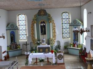 Kościół NMP w Budowie wnętrze