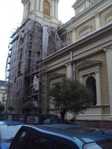 Katedra Zbawiciela Boskiego w Ostrawie remont elewacji