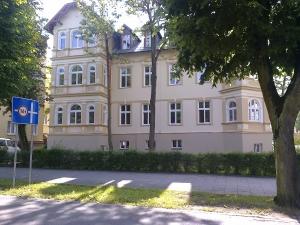 Budynek DELFIN w Świnoujściu - renowacja elewacji